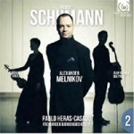 SCHUMANN Cello Concerto, Piano Trio No. 1.